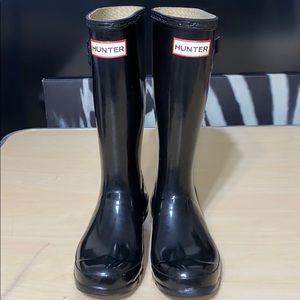 Original Big Kids Rain Boots: Black